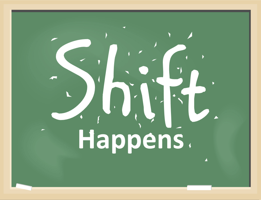 Shift Happens A Shift In Vocabulary That Is Debs Data Digest